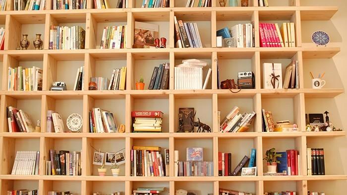 おしゃれな本棚の収納