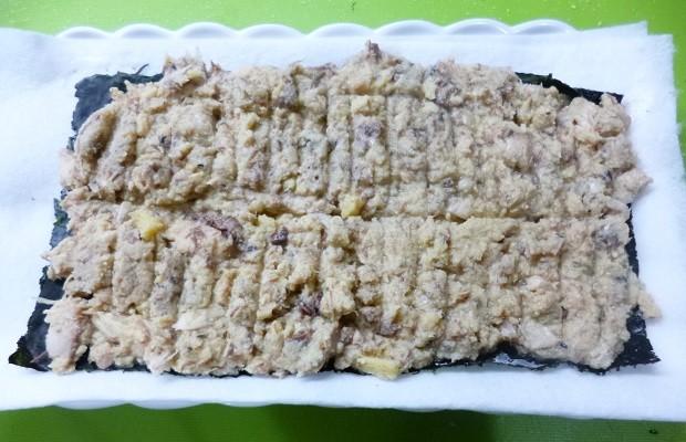 高野豆腐×サバ缶×卵
