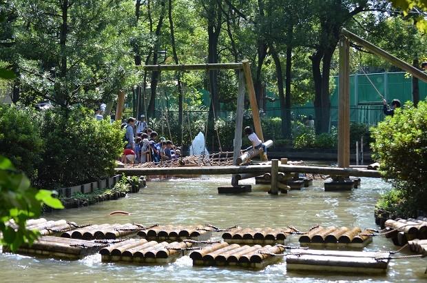 東京都大田区「平和の森公園フィールドアスレチック」