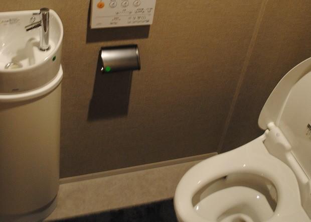 トイレの独立式手洗い台