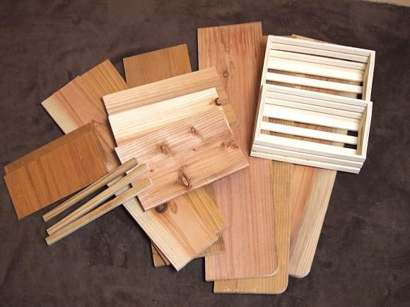 木工インテリアをDIY1