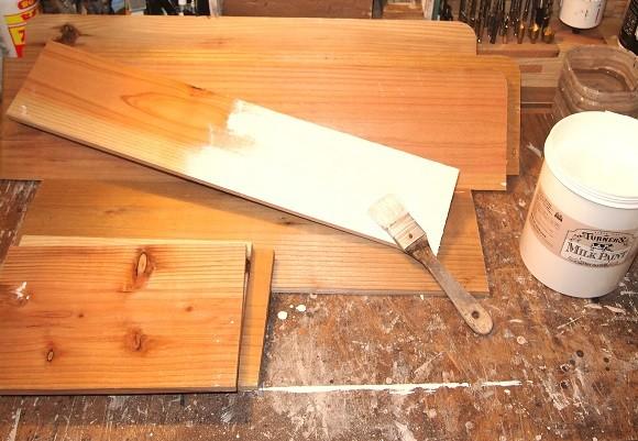 木工インテリアをDIY2