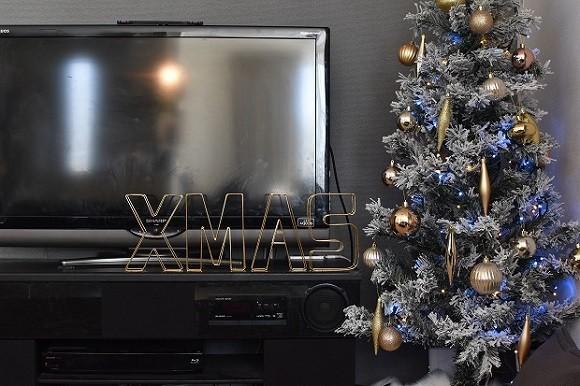ニトリ・100均・手作りクリスマスオーナメント1
