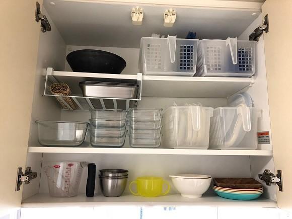 キッチン収納で時短9