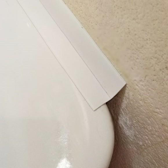洗面台隙間埋める防水コーナーテープ