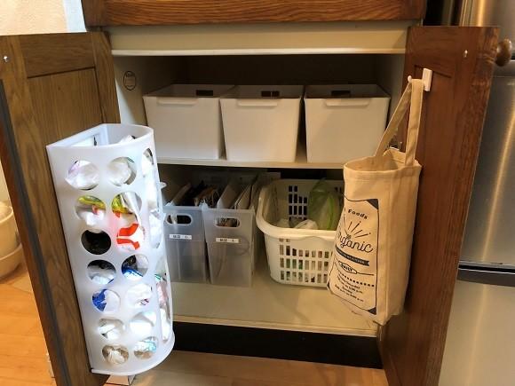 レジ袋の収納アイデア3