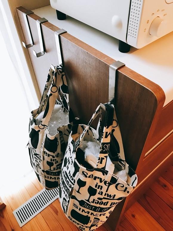 レジ袋の収納アイデア4