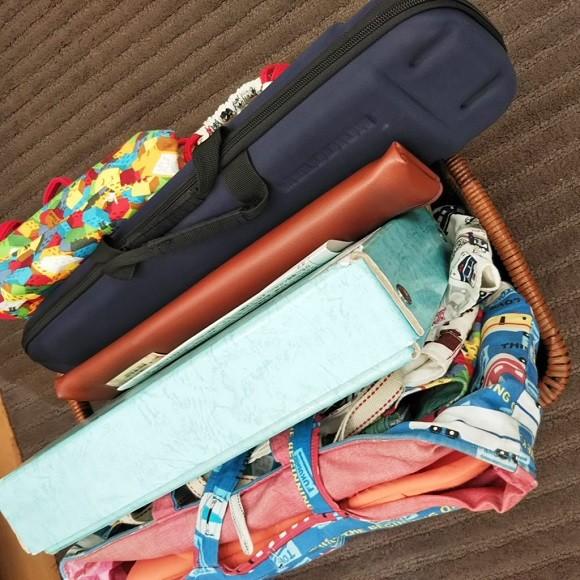 学校の道具や作品の収納術3
