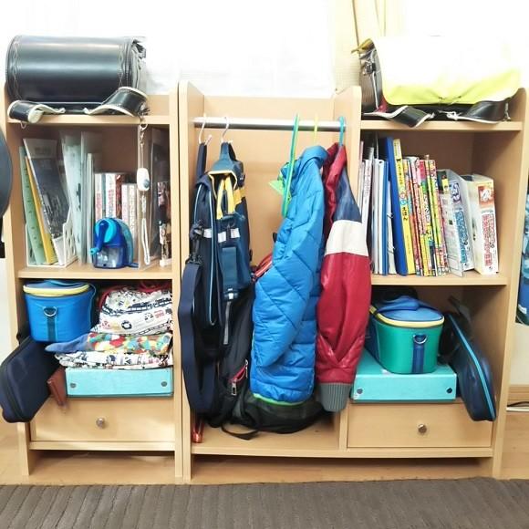 学校の道具や作品の収納術6
