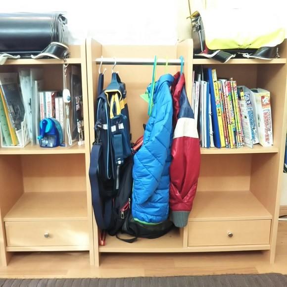 学校の道具や作品の収納術5