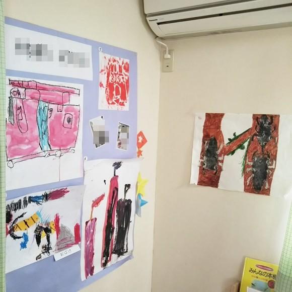 学校の道具や作品の収納術9