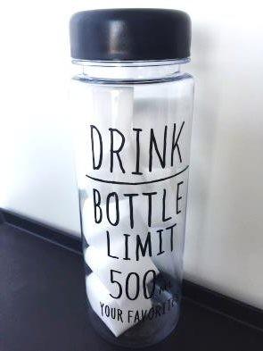 100均のドリンクボトルで収納1