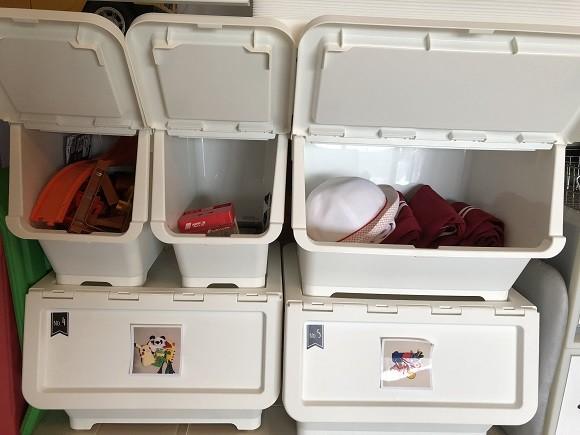 子ども部屋の収納15