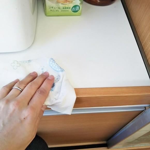 台ふきんを断捨離して洗って使えるペーパータオルが便利