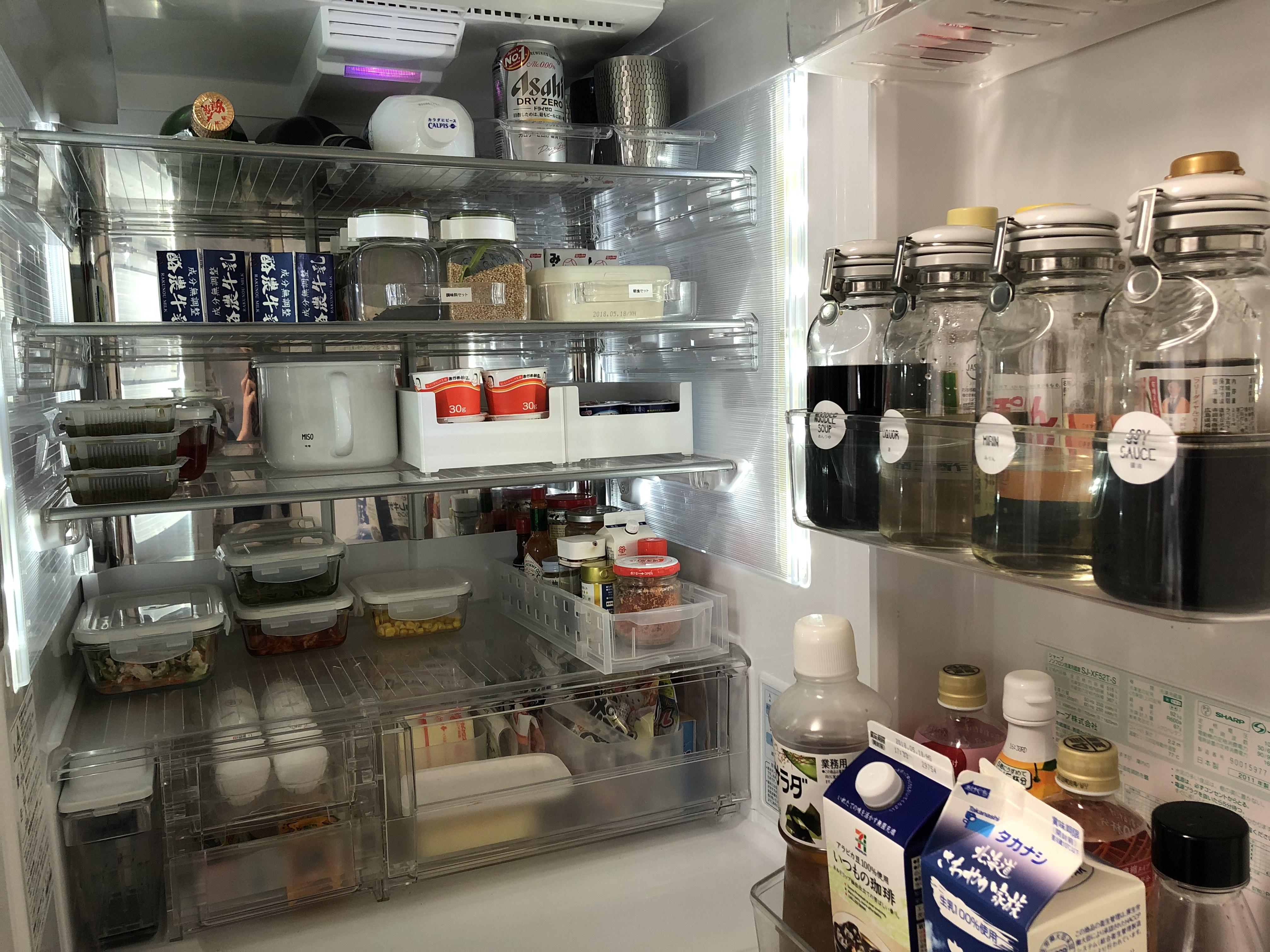 冷蔵庫収納術2