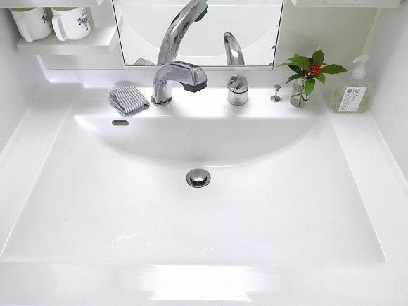 洗面所収納のポイント1