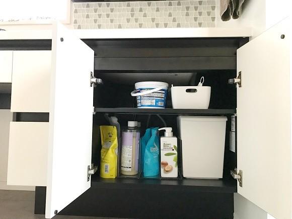 洗面所収納のポイント2