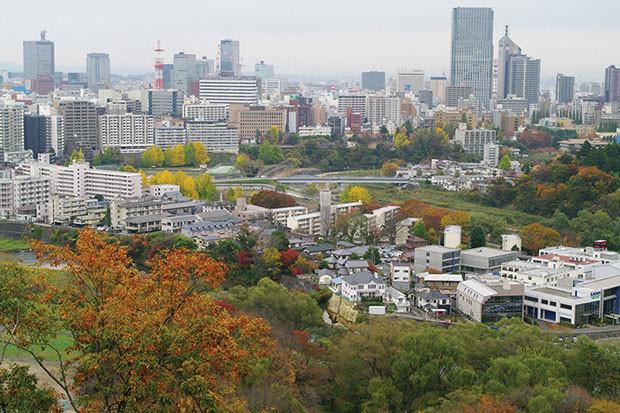 地下鉄東西線開業にさらなる発展が期待される仙台市若林区